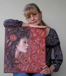 Painter Selena Boron Has New Facebook Page